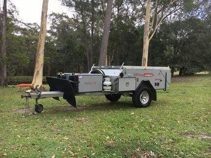 AOR Australian Off Road Odyssey ZR. Hard Floor Camper Trailer