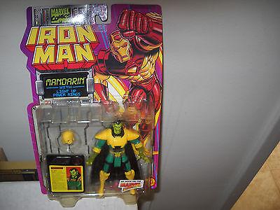 Iron Man Action FigureMandarin vfnm on Card