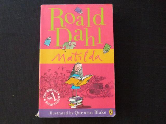 MATILDA BY ROALD DAHL - ISBN 9780141322667