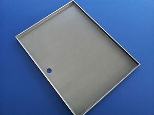 STAINLESS STEEL BBQ GRILL HOT PLATE 46.5  X 38 cm  PREMIUM 304 GRADE BRAND NEW
