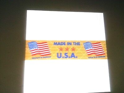 Gummed Tapereinforced2 Roll 450 Ft Made In The Usa Flag Printed 14.00 A Roll