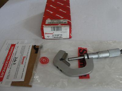 Starrett T485xrl 52497 V-anvil Micrometer 0.78-1 Range New