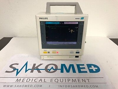 Philips M3046a Patient Monitor W Philips M3000a Module