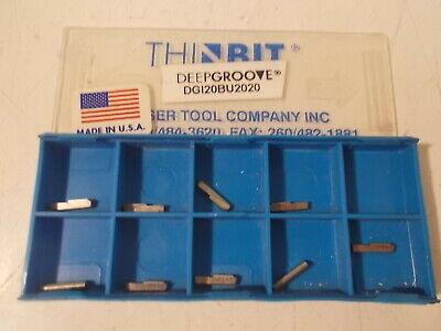 9 Nib Thinbit Dgi20bu2020 Carbide Inserts