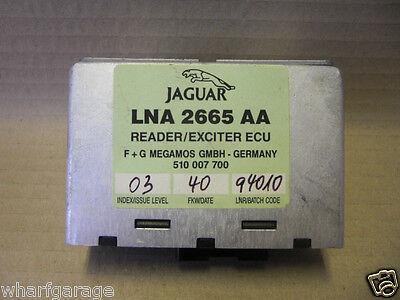 JAGUAR DAIMLER X300 XJ6 ECU READER / EXCITER KEY TRANSPONDER MODULE LNA2665AA