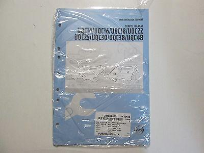 Volvo Construction Equipment Uqc14 16 18 22 25 30 38 Uqc48 Service Manual Used