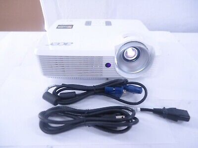Acer X1320WH 2700 Lumens DLP 3D Projector (1) cable Included