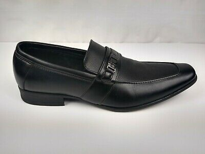 Calvin Klein Bartley Men's Size 11 Slip On Loafer Dress Shoes Black 34F1512