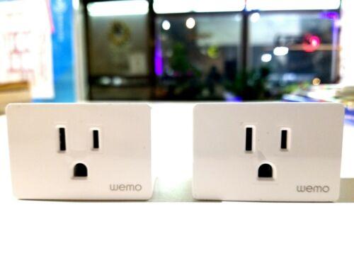 Brand New WEMO Wifi Smart Plug WSP080 2 Pieces Homekit Compatible