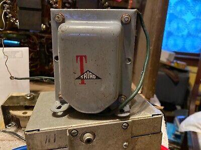 Filament Transformer Power Supply Triad F-22a Vintage Electronics Tested