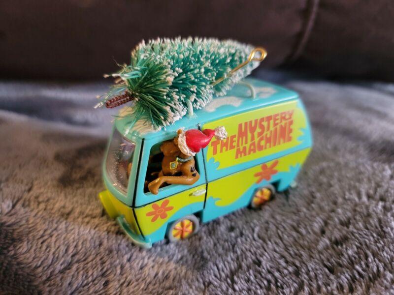 Scooby Doo Mystery Machine w/ Christmas Tree on top Christmas Ornament