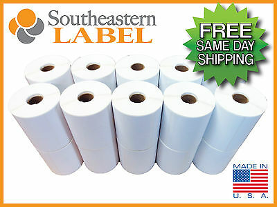 4x6 Direct thermal 20 rolls 5,000 Labels Zebra Eltron 2844 * FREE SHIPPING *