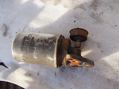Oliver 770 Tractor Lull Original Engine Motor Oil Filter Holder Mount Oil Line
