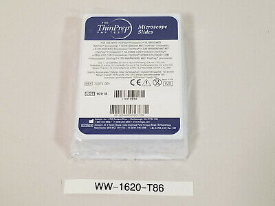Hologic 70303-001 - The Thin Prep Pap Test Microscope Slides Lot Of 100
