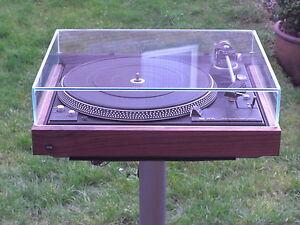 DUAL 731Q 741Q 721 704 626 Haube aus Glas Modell Transparent