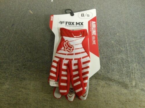 Fox Racing Motocross Mens Airline Gloves Red 03146 New with tags in stock