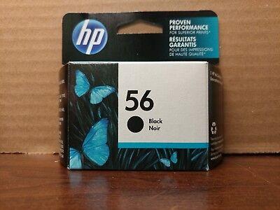HP - 56 Black Original Ink Cartridge - Black