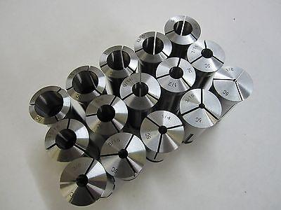 5c Collet Set - 15 Pcs 18 - 1 Precision