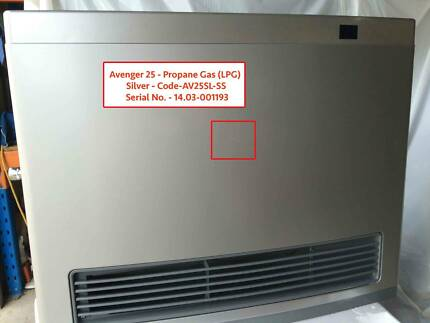 3 x Rinnai Avenger 25 - Propane Gas (LPG) - Silver - 1.5m Hose Caringbah Sutherland Area Preview