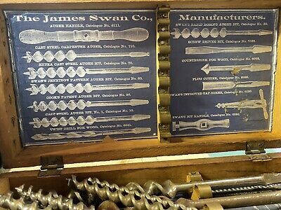 The James Swan Company Mechanics Tools - Old Tools $125 OBO