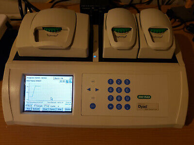 Bio-rad Ptc-220 Dna Engine Dyad Thermal Cycler With 2 Blocks Tested Working
