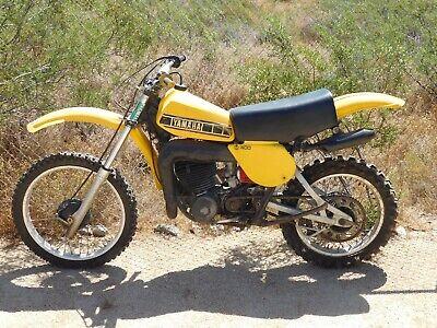 '78 Yamaha YZ400E YZ IT 400 E Vintage MX MotoCross RUNNING Core REBUILDER Parts