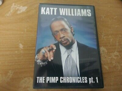 KATT WILLIAMS THE PIMP CHRONICLES PART 1 STAND UP COMEDY DVD MOVIE FILM DISC NR