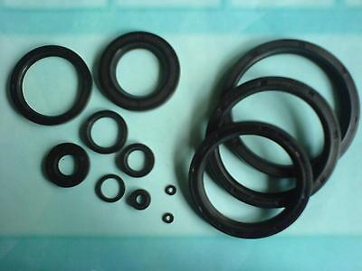 Simmer Ring (1 Wellendichtring Simmerring NBR70  20x30x7 - 20/30/7 mm AS = WAS = BASL = TC)