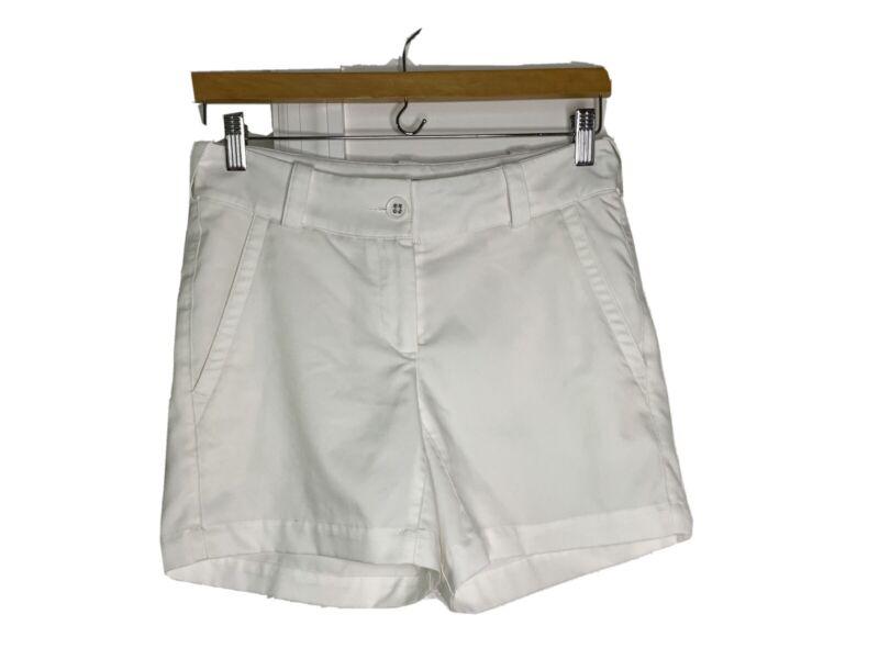Nike Golf womens shorts white