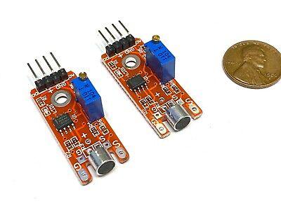 2 Pieces Arduino Ky-038 Voice Switch Corridor Module Sound Sensor Detector A19