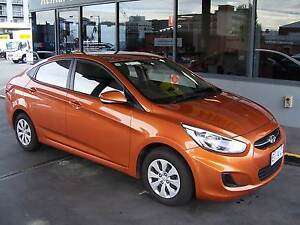Stand Out In This Hyundai Accent - Automatic 2014 Sedan Hobart CBD Hobart City Preview