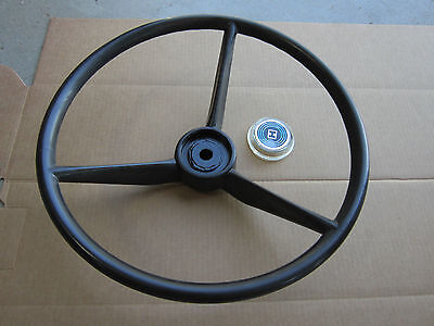 Steering Wheel And Cap For Ih International 154 Cub Lo-boy 184 185 Cadet 982 984