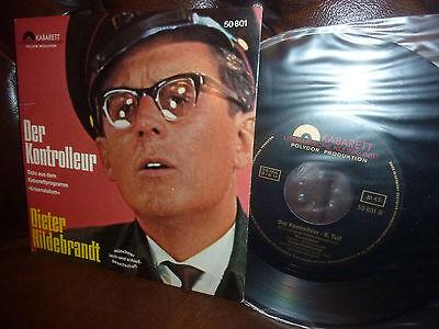 "Dieter Hildebrandt, Der Kontrolleur, Kabarett Polydor 50801, EP Single, 7"""
