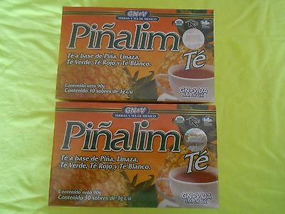 2 X Pi Alim Tea Gn Vida Pi Alim T   2 Boxes