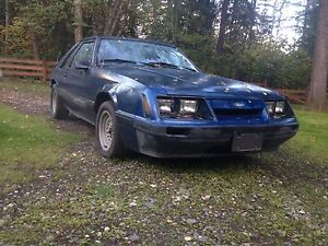 1986 Ford Mustang V6 Auto for trades