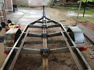 Registered boat trailer Round Hill Burnie Area Preview
