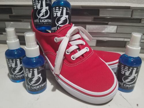 White Lightning (FAST ACTING) Shoe Sole Cleaner, Strongest Cleaner on The Market