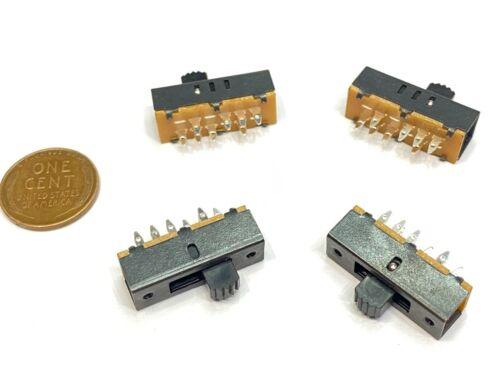 4 Pieces Slide switch 2P3T 8pin on/off/on SS-23F02G5  E5