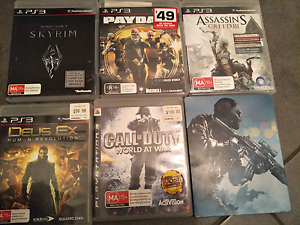 Selling 6 PS3 Games Huntingdale Gosnells Area Preview