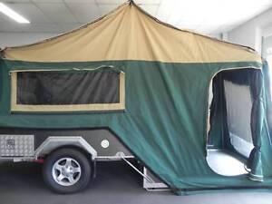 Outback ct 690 hard floor rear fold camper