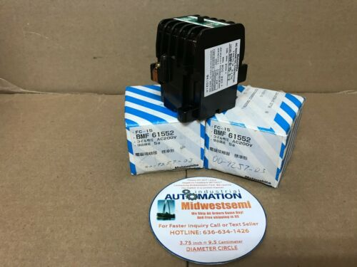 NIB BMF61552 MATSUSHITA BMF6-15-5-2 AC MAGNETIC CONTACTOR TYPE FC-15 SHIPSAMDAY