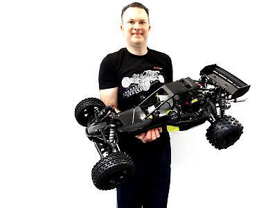 Rovan 45cc Gas, Petrol Buggy 1/5 Scale Ready to Run KM HPI Baja 5B -