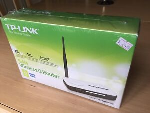 TP-Link Wireless G Router TL-WR340G