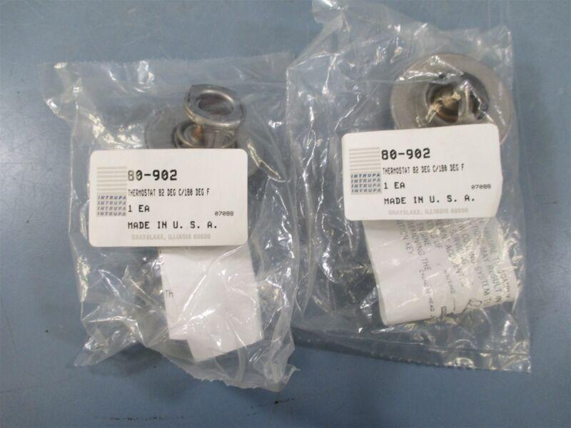 Intrupa 80-902 Thermostat Lot of 2 - New