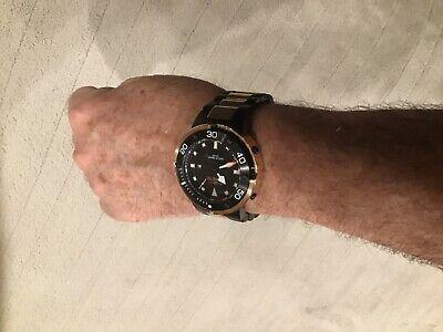 Invicta Grand Pro Diver Sharp Black & Rose Gold Two Tone