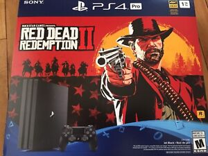 Playstation 4 pro .. 1TB .. Red Dead Redemption 2