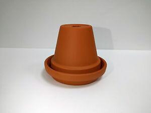 Mini Terracotta Flowerpot Ashtray (8cm diameter pot)