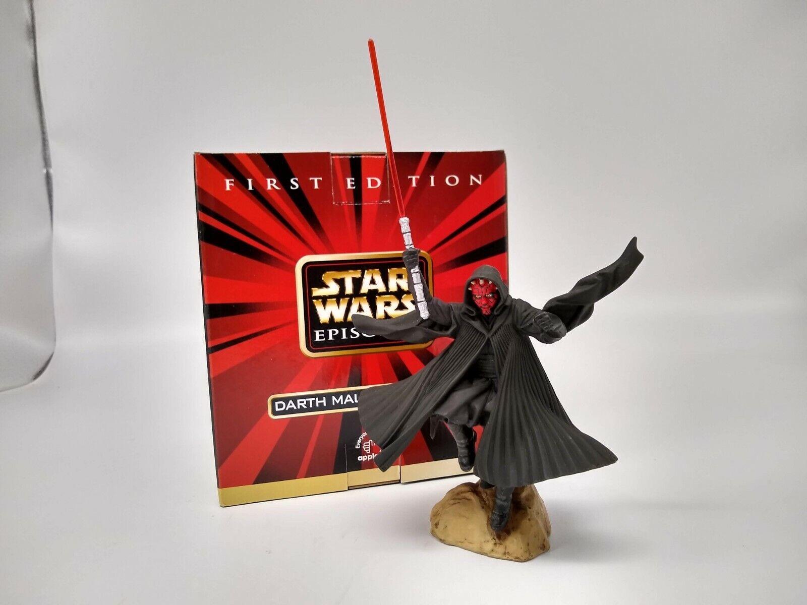 Star Wars Episode 1 Darth Maul Miniature Statue - New with Box
