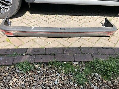 Ford Fiesta Mk2 Xr2 Rear Bumper Plastic Red Stripe