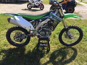 2012 kx 450f fresh rebuild $4500